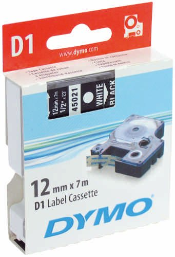 Dymo Cf5Nastri D1 12Mmx7M Blu/Bianco Newell Rubbermaid S0720540 172147178