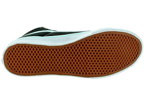 Vans Unisex Sk8-Hi Slim (Pop) Black/Blue Tint Skate Shoe 7 Men US / 8.5 Women US pBpjmb50VQ