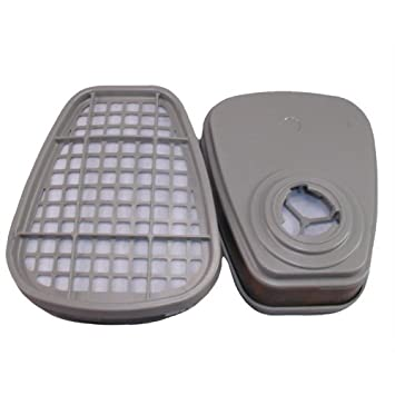 4 STCK Aktiv Filterpatrone für 3M Maske A2 06915