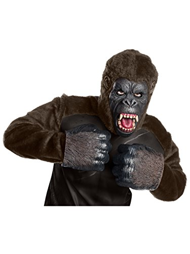 (Rubie's Costume Co Men's Skull Island King Kong Foam Hands, As Shown, One)