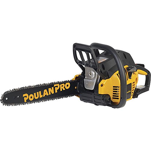 Poulan Pro 967196401 PP3816A 38cc Assembled Chainsaw with Case, 16-Inch