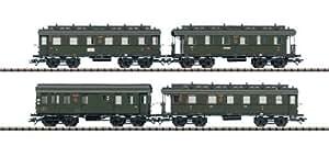 """T24353 - Märklin Trix H0 - Wagenset """"Langenschwalbach"""" DRG, época II"""