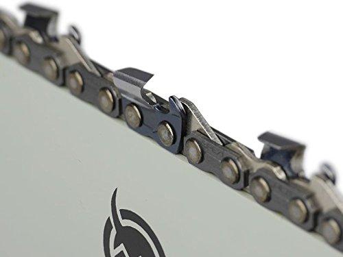 Halbmei/ßel 38cm S/ägenspezi Kette .325 64TG 1,3mm passend f/ür Husqvarna 345