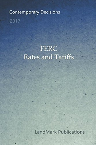 FERC Rates and Tariffs