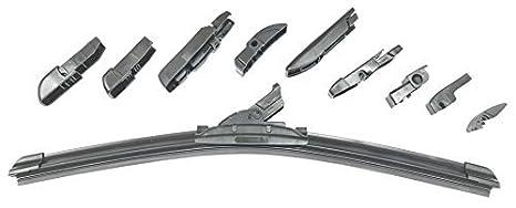 Limpiaparabrisas Universal Todos los Vehiculos 500 mm con 10 Adaptadores F210, F211, F212,