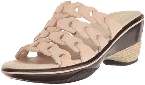 Jambu Women's Romance Platform Sandal, Nude, 6 M US