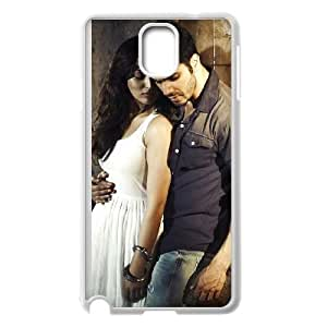 varun dhawan and yaami gautam in badlapur Samsung Galaxy Note 3 Cell Phone Case White yyfD-081000