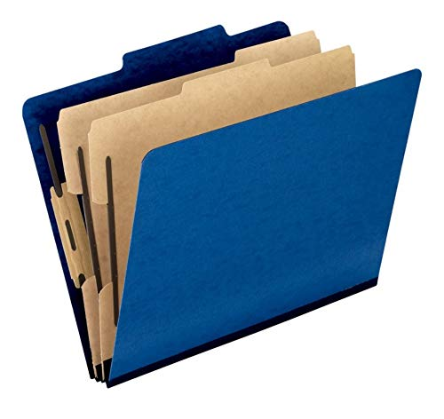 (Six-Section PressGuard Classification Folders)