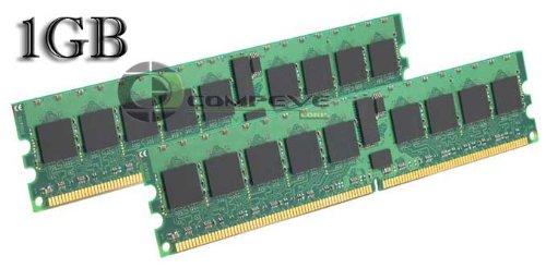 1GB 2x 512MB Samsung PC2-3200 400MHZ DDR2 ECC M393T6553CZ3-CCC - M393T6553CZ3-CCC
