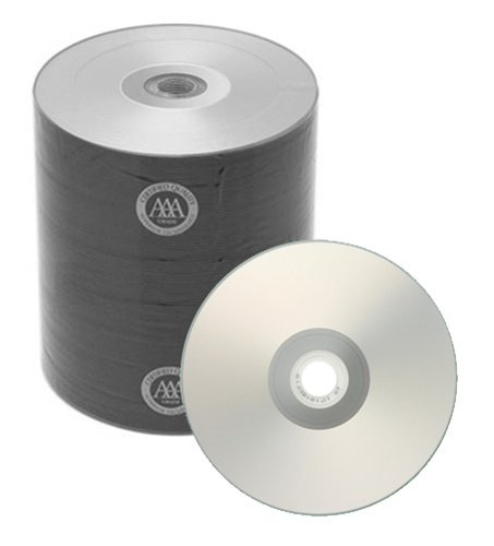 500 Spin-X Diamond Certified 48x CD-R 80min 700MB Silver Inkjet Hub Printable by SpinX