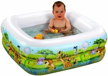 Wehncke 12058 Baby Watch - Piscina Hinchable para Ducha 85 x 85 x ...
