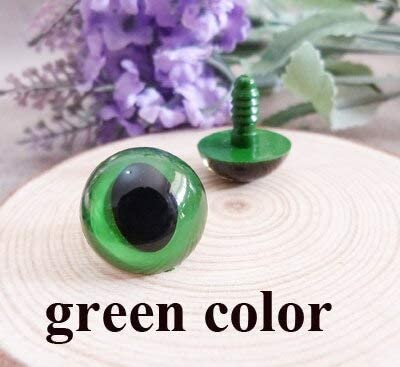 Amazon.com: HANDYCRF 40pcs/lot arrvial 14mm/16mm/18mm Plastic Safety Toy cat Eyes & White Hard Washer for DIY Doll-Green/Yellow/Blue/Lake Blue - (Color: Green Color; Size: 18mm add Hard Washer): Garden & Outdoor