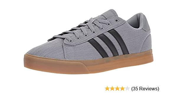 timeless design fd16c 1fa38 Amazon.com  adidas Mens Cloudfoam Super Daily Sneaker Grey ThreeBlack White 6.5 Medium US  Fashion Sneakers