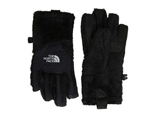 (The North Face Kids Girl's Osito Etip¿ Gloves (Big Kids) Tnf Black SM)