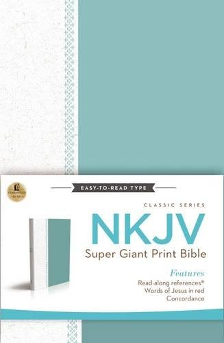 NKJV, Reference Bible, Super Giant Print, Hardcover, Red Letter Edition (Classic)