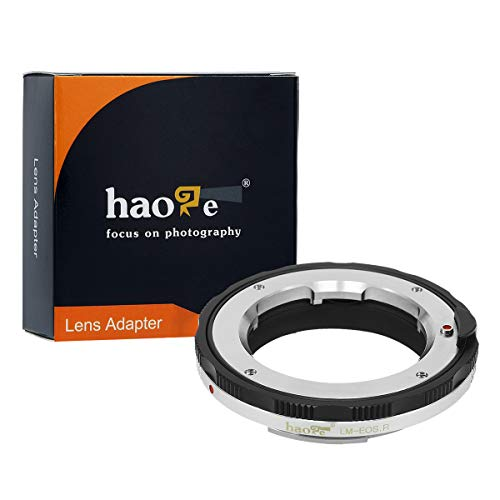 Haoge Manual Macro Close Focus Lens Mount Adapter for Leica M LM, Zeiss ZM, Voigtlander VM Lens to Canon RF Mount Camera Such as Canon EOS R
