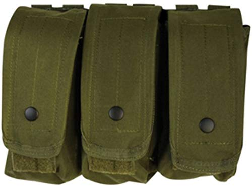 Fox Outdoor AR-15/AK-47 Triple Mag Pouch Olive Drab