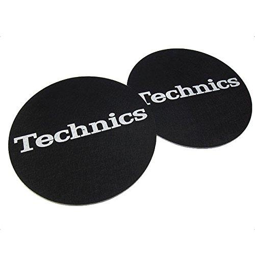 Technics: Slipmats - Black / Silver
