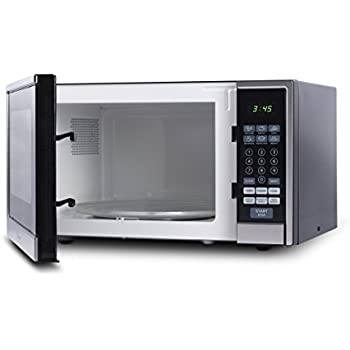 Westinghouse WCM11100SS 1000 Watt Counter Top Microwave Oven, 1.1 Cubic  Feet, Stainless Steel Front