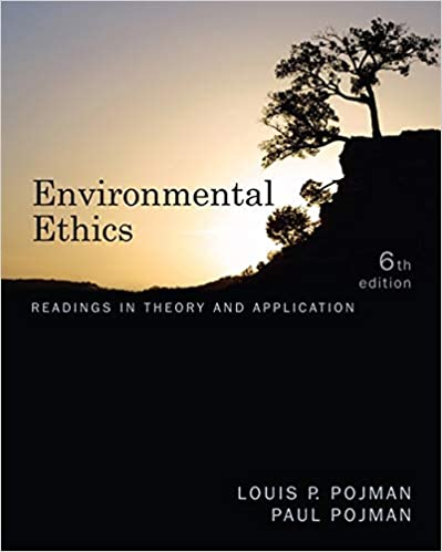 Environmental Ethics Readings In Theory And