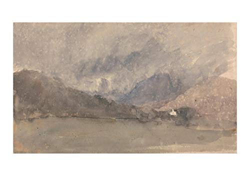 Spiffing Prints David Cox - Capel Curig Caernarvonshire Wales - Small - Archival Matte - Unframed
