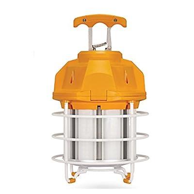 Satco Hi-Bay LED 60W 120V 5000K Hi-lumen temporary caged lamp
