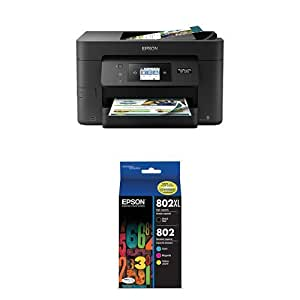 Amazon.com: Epson WorkForce Pro wf-4740 Wireless All-in-One ...