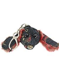 Dachshund Red Dragon Keychain