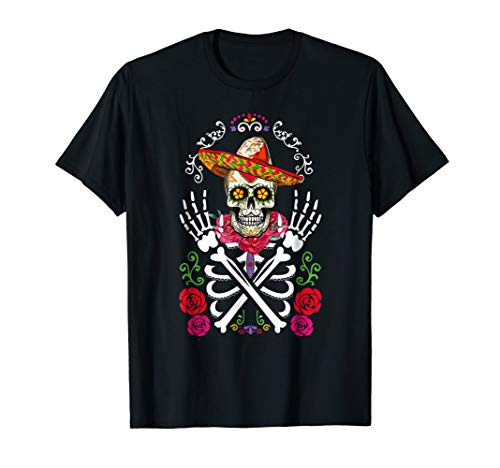 (SKELETON SHIRT | Halloween Costume Mexican Day Of The)