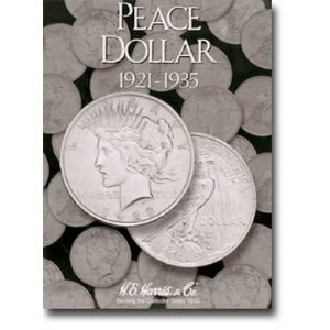Harris Peace Dollars 1921-1935 Coin Folder 2709 by H.E. Harris
