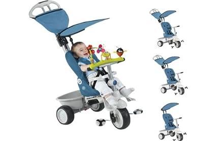 Smart Trike Recliner 4 In 1 Stroller Blue Amazon Co Uk Baby