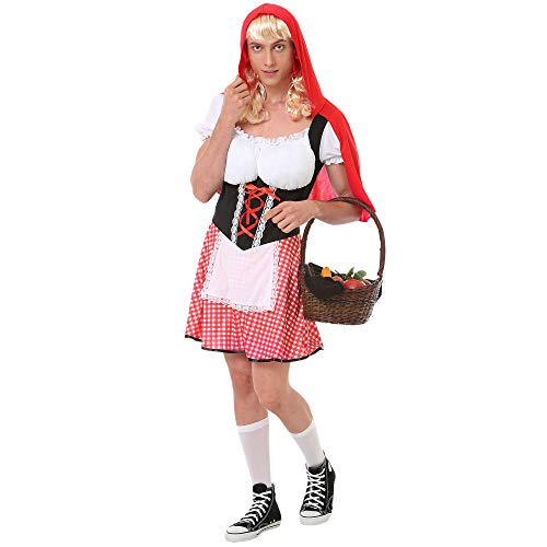 Burly Red Riding Hood Costume - Funny