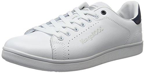 x Dk Baskets Class Navy Basses KangaROOS K White Blanc FG Homme wxH1np6q