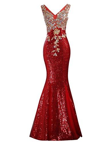 LETSQK Mermaid Sequins Diamond Evening product image