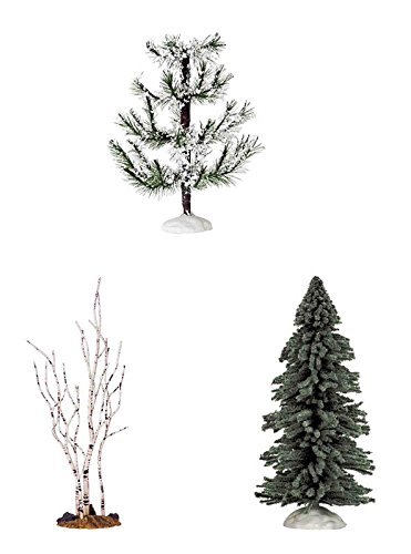 Assorted Pine Trees - Lemax Tree Assortment 9