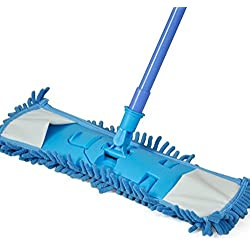 Extendable Microfibre Mop Floor Cleane High Performance And Effective Cleaning. Applied To Wet Or Dry Without Any Harmful Detergents.