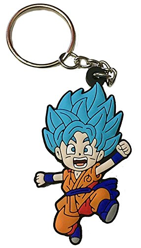 Dragon Ball Super Key Chain Goku Super Saiyan God Blue