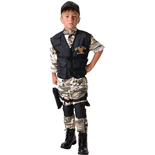 Navy SEAL Team Kids Costume - -
