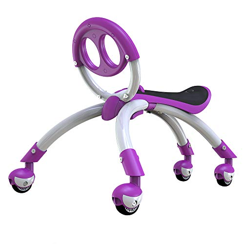 YBIKE Pewi Elite Bike Walking Ride On Toy, Purple