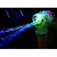 Pistola de burbujas con iluminación LED