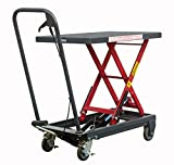 Pake Handling Tools - Hydraulic Manual Scissor Lift Table, 500lbs
