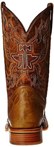 Scarpe Di Seconda Mano Mens Smokin Hot Western Boot Brown