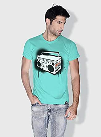 Creo Music Radio Trendy T-Shirts For Men - Xl, Green