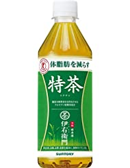 Case Sale Suntory Green Tea Iemon Tokucha Food For Specified Health Use 500ml 48 Pieces Buying