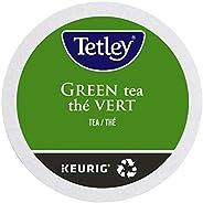 Tetley Green Tea Single Serve Keurig Certified Recyclable K-Cup pods for Keurig brewers, 12 count