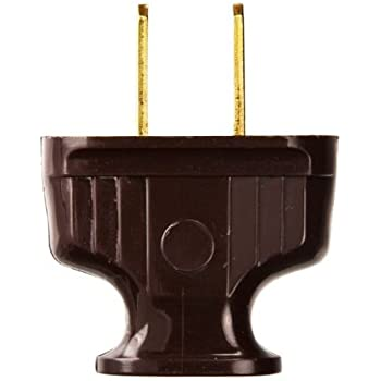 Leviton 101-P 15 Amp, 125 Volt, NEMA 1-15P, 2P, 2W, Plug, Straight ...