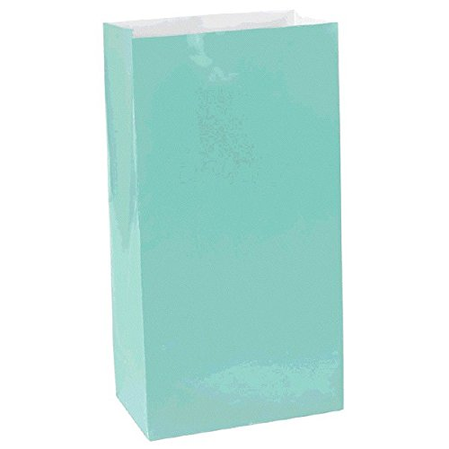 Tiffany Themed Party (Mini Paper Bags | Robins Egg Blue | Party)