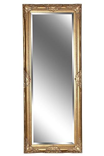 Spiegel Wandspiegel Barock antik gold LEANDRA 150 x 60 cm