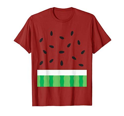 Watermelon Halloween Matching Fruit Group Costume Shirt