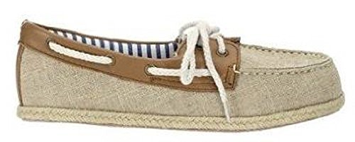 Best Shoes Boat Womens Schnürer Beige Connections rgwITZqr